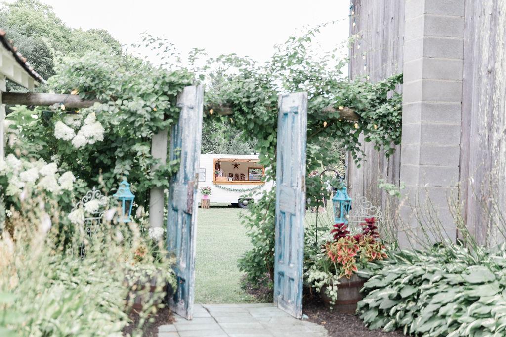Kerri & Chris' Adirondacks, NY Wedding at Burlap & Beams