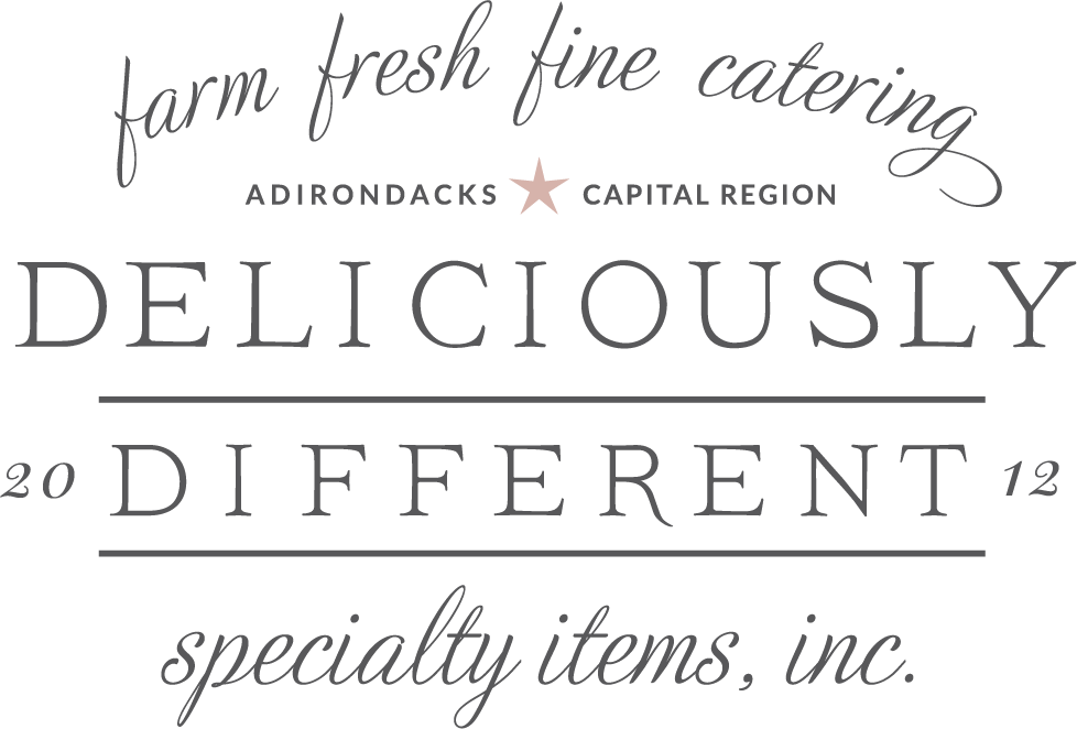 Deliciously Different - Premier Caterers Adirondacks and Capital Region, New York